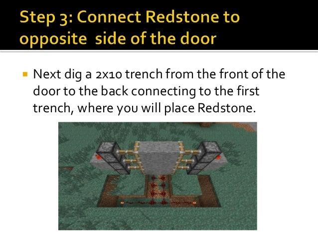 How to create a hidden minecraft piston door for 10 ways to make a secret door in minecraft