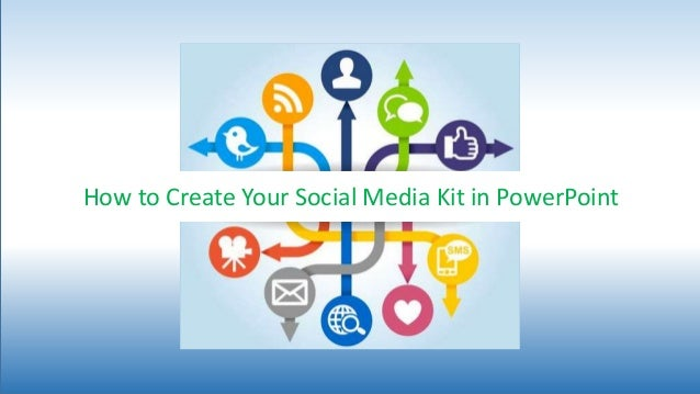 how to create your social media trainer kit in powerpoint. Black Bedroom Furniture Sets. Home Design Ideas