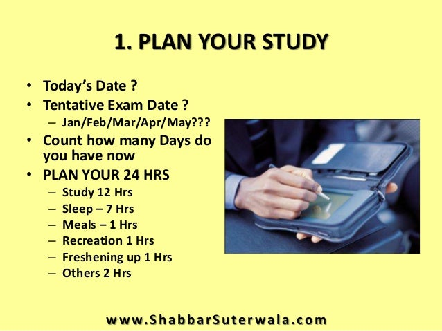 What's the best ways to study for exams?