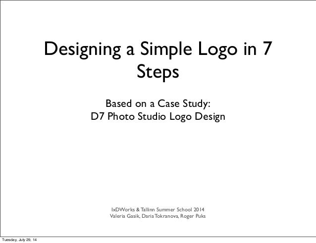 How To Design a Logo in 7 Steps
