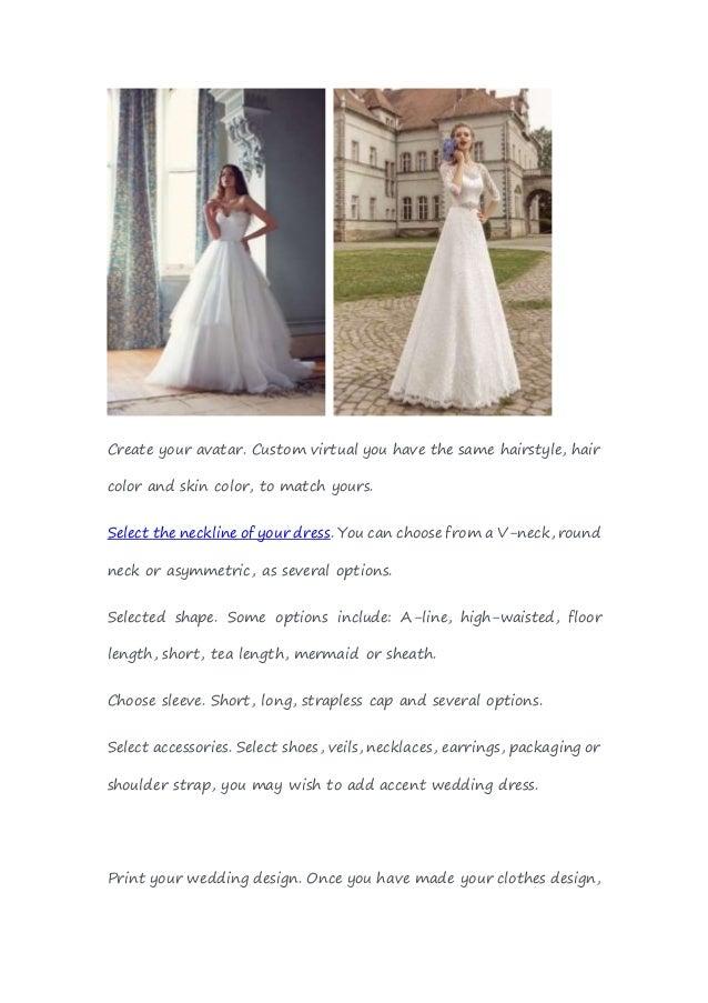 Create Your Dream Wedding Dress Vosoicom