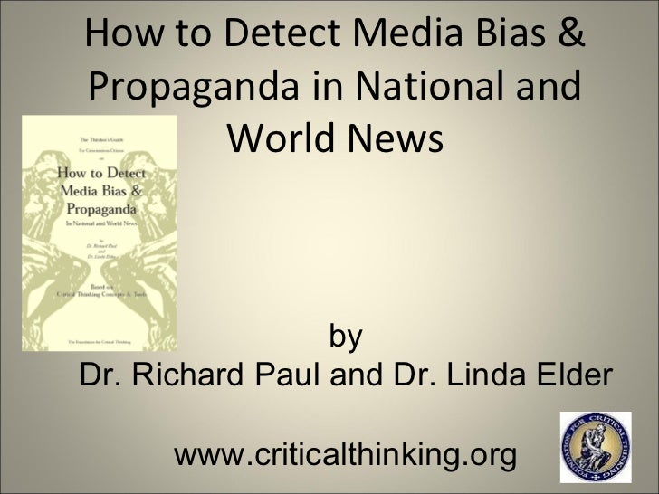 detecting media bias Media have tremendous power in setting cultural guidelines and in shaping political discourse it is essential that news media, along with other institutions, are challenged to be fair and accurate the first step in challenging biased news coverage is documenting bias.