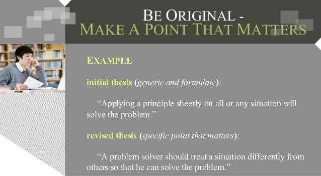 develop thesis essay 9 developing an academic essay 2 developing an academic essay in chapter 1: writing an academic essay, you were introduced to the concepts of essay prompt, thesis.