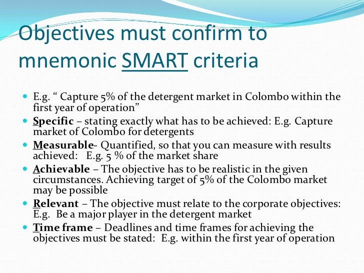 smart objectives essay This guide provides samples of smart objectives for managers that they can use in the workplace we'll start by providing a brief introduction to the smart framework and then progress to sharing examples of smart objectives.