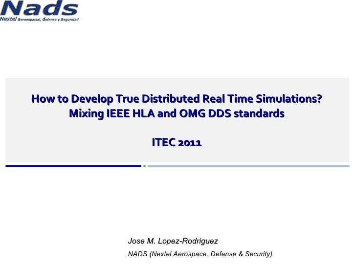 How To Develop True Distributed Real Time Simulations