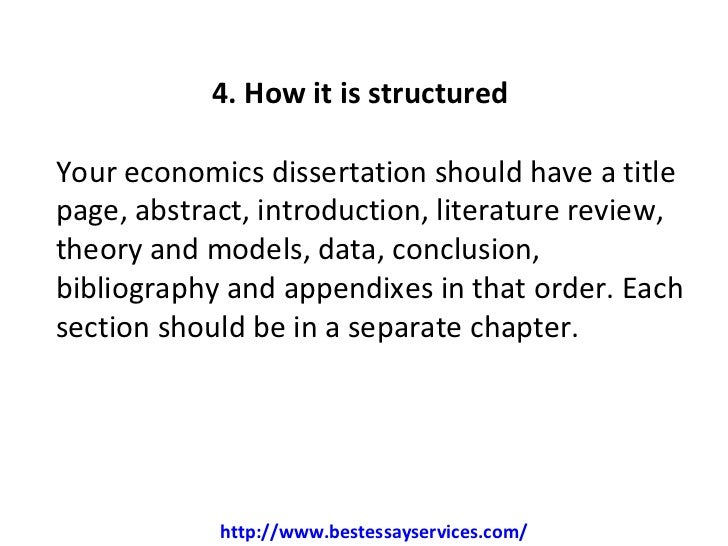 dissertation topics economics