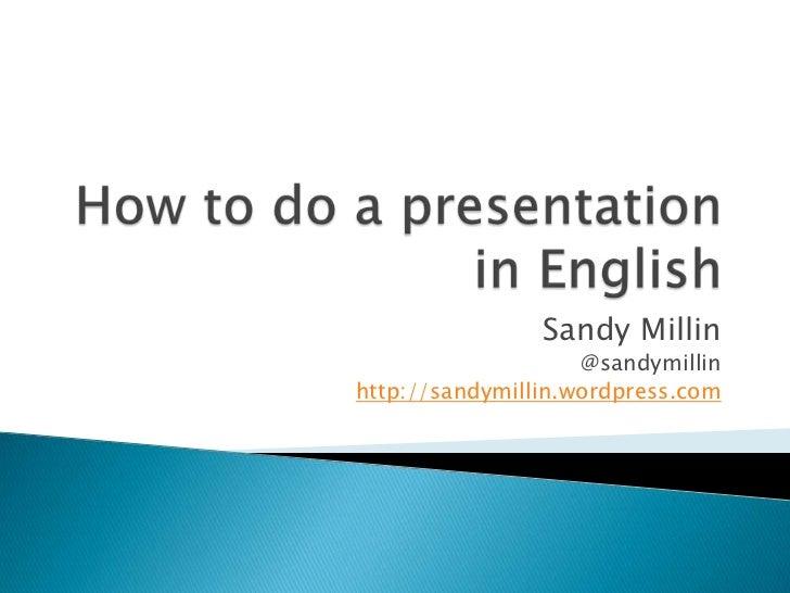 How to do a presentation on my ipad