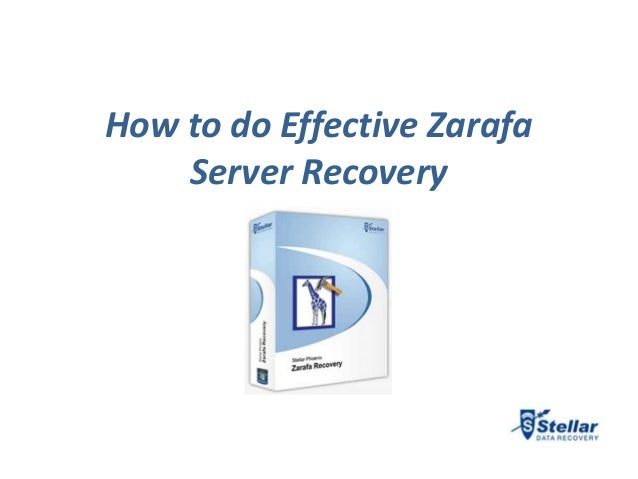 How to do Effective Zarafa    Server Recovery