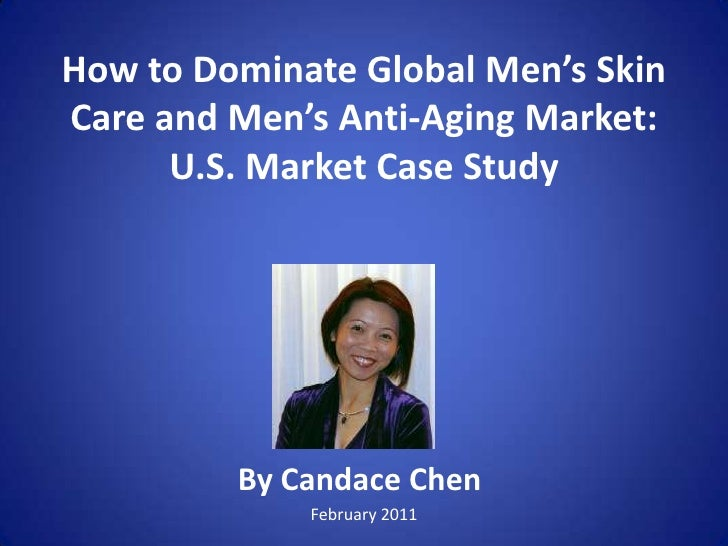 The Best Kept Secret To Dominate Global Men's Skin Care Anti-Aging Market by Face Lube Candace Chen