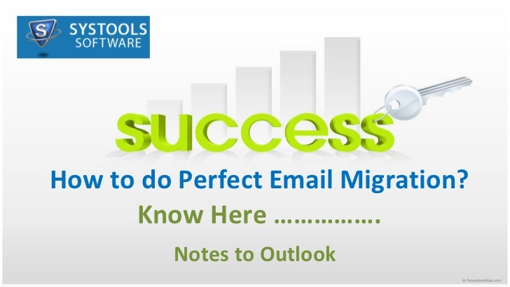 How to do perfect notes to outlook migration