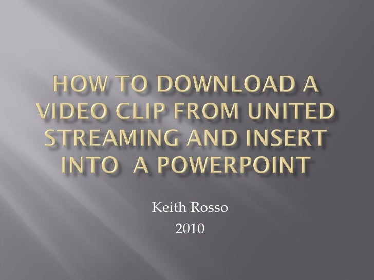 How to download a video clip from united