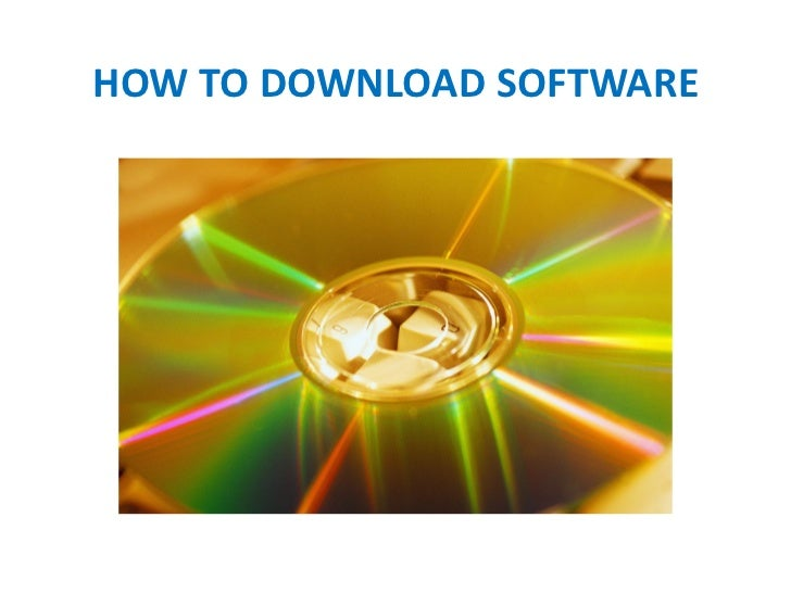 How to download software