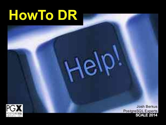 HowTo DR
