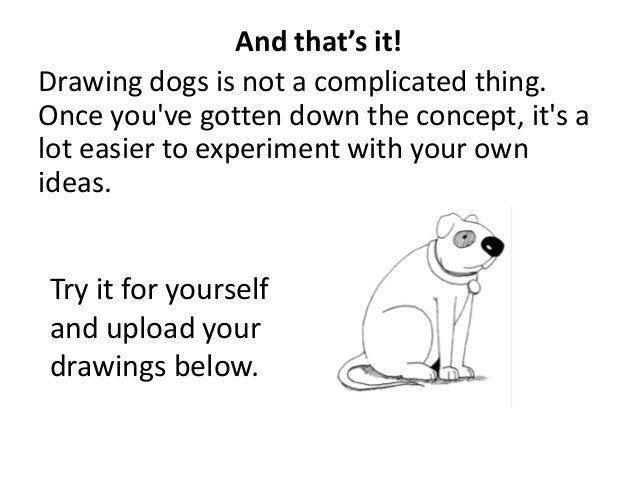 how to draw how to draw a dog