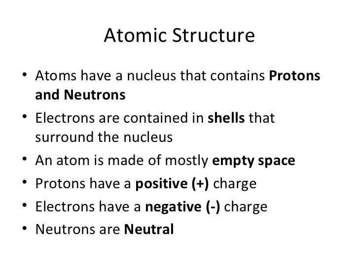 How to draw bohr diagrams (slideshare)