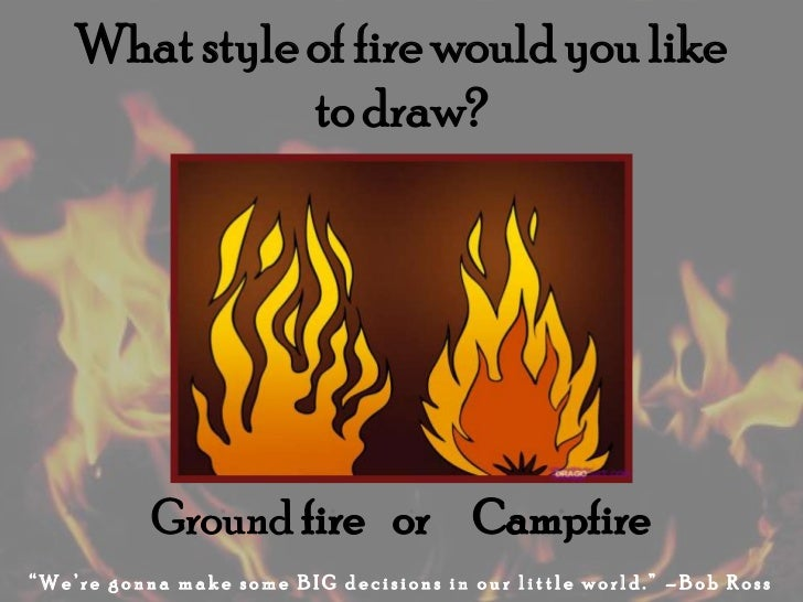 how to draw fire letters