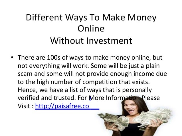 Earn money forex without investment