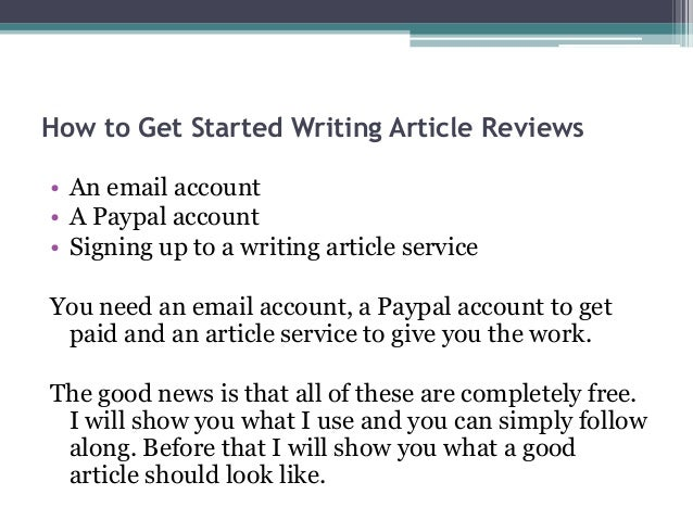 how to write an review article example university of adeiade