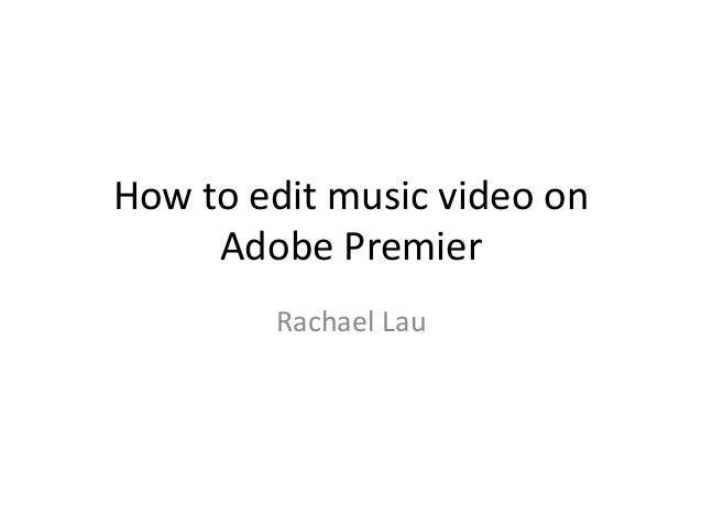 how to cut a video in adobe premier