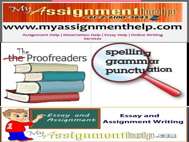 Online Essay Proofreader