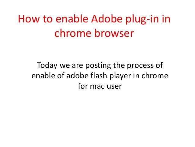 how to delete plugins adobe chrome