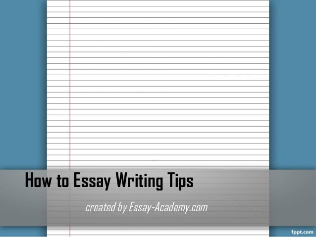 pee essay-writing technique