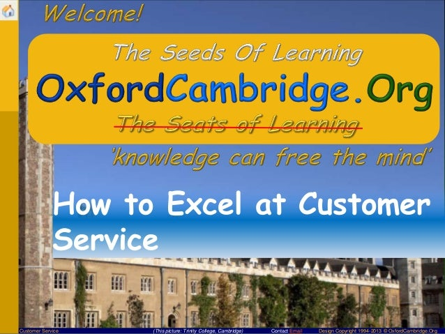 How to Excel at Customer Service