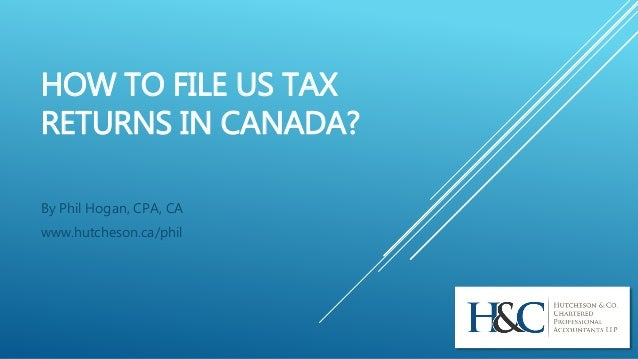 how to send tax return canada