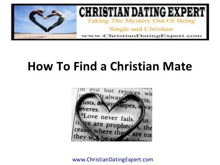 How to find a christian mate