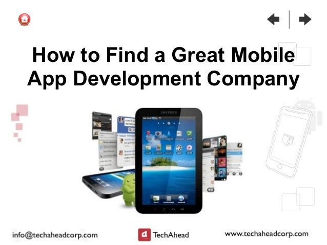 How to Find a Great Mobile App Development Company