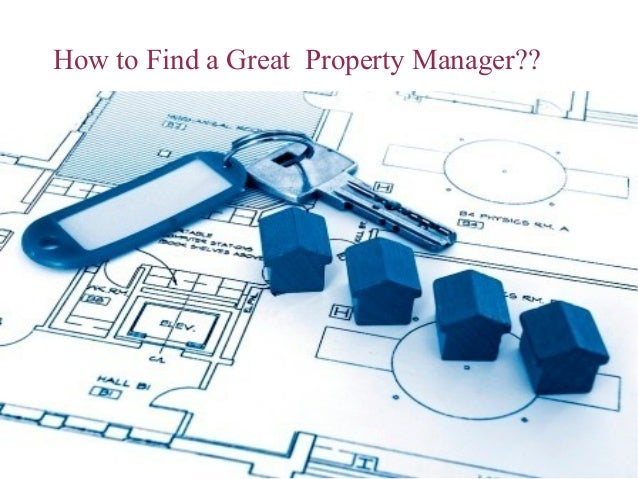Find Great Property Manager