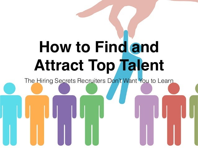 How to Find and Attract Top Talent