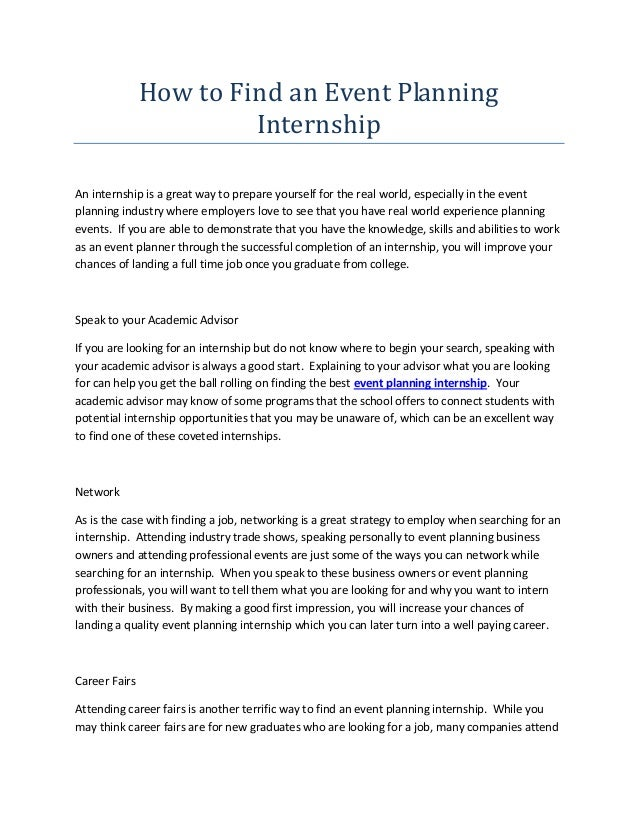 internship application essay format