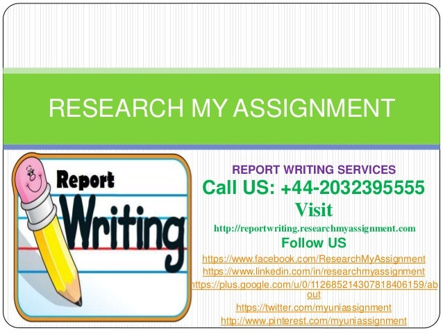 Best report writing