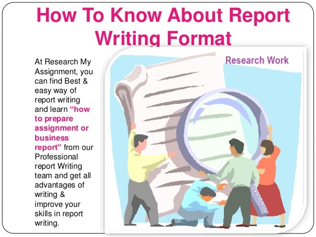 Best report writing