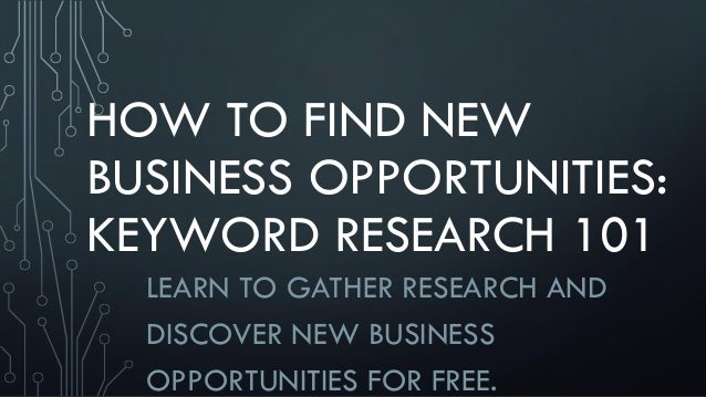 how to find keywords for research paper