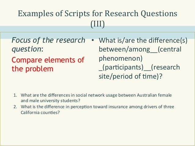 thesis research questions Developing a research thesis questions or feedback about esc's online writing center contact us at learningsupport@escedu two union avenue.