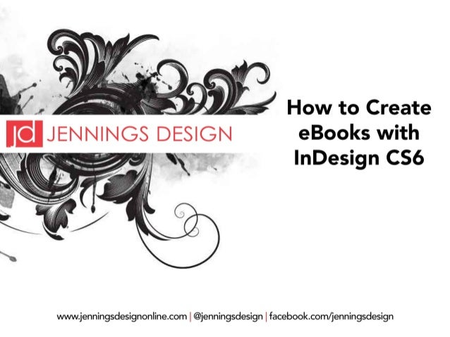 How to Create eBooks with InDesign CS6