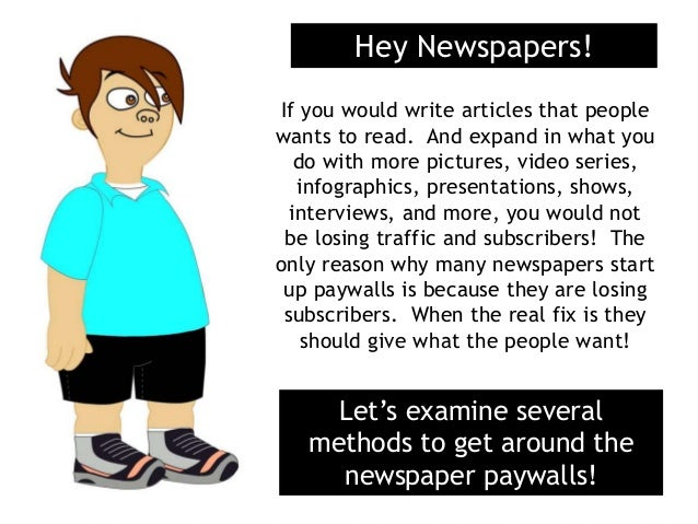 How to get an article in a newspaper?
