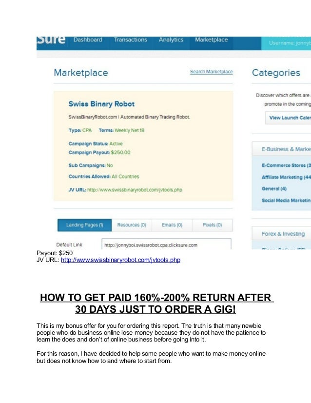 How do i trade binary options