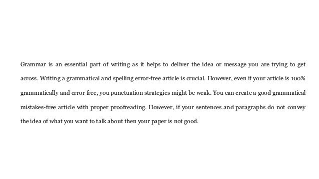 Anything wrong grammatically or with punctuation in this essay?