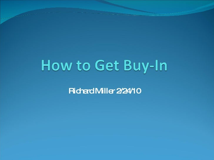 NCompass Live: How To Get Buy-In