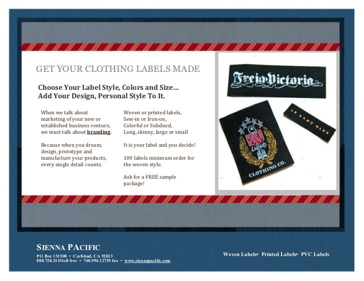 how to get clothing labels made With how to get clothing labels made
