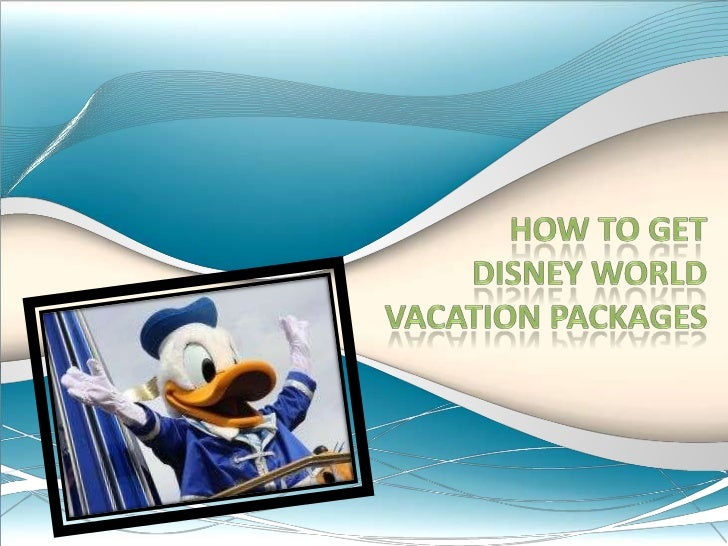 How to get Disney World vacation packages<br />