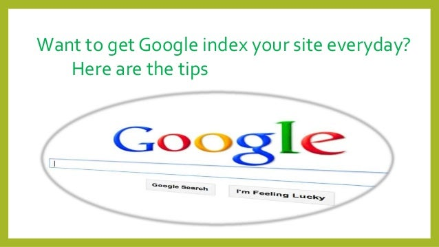 how to get yur website on gogle