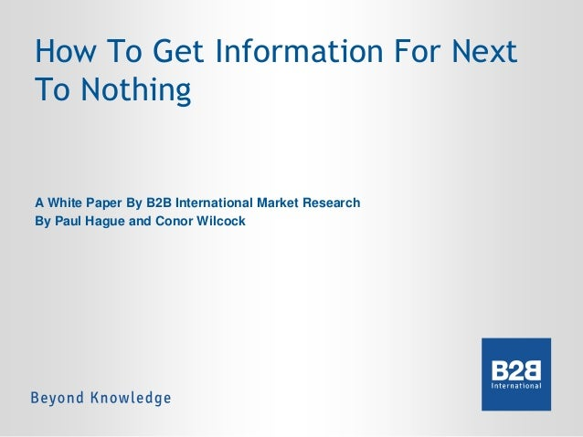 Desk based research dissertation