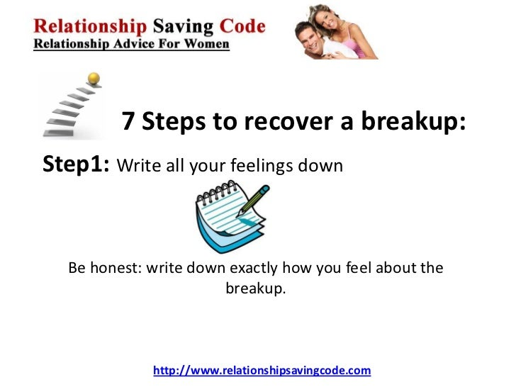 7 Steps for Getting Over a Breakup