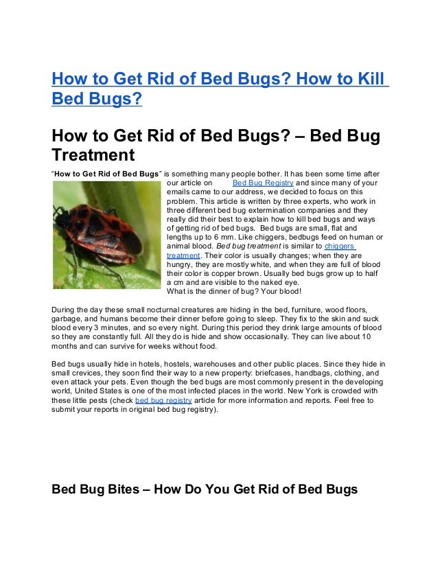 "How to Get Rid of Bed Bugs? How to KillBed Bugs?How to Get Rid of Bed Bugs? – Bed BugTreatment""How to Get Rid of Bed Bugs""..."