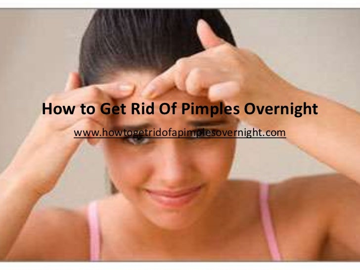 how to lose pimples fast
