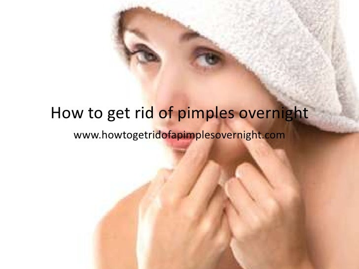 How To Get Rid Of Small Acne